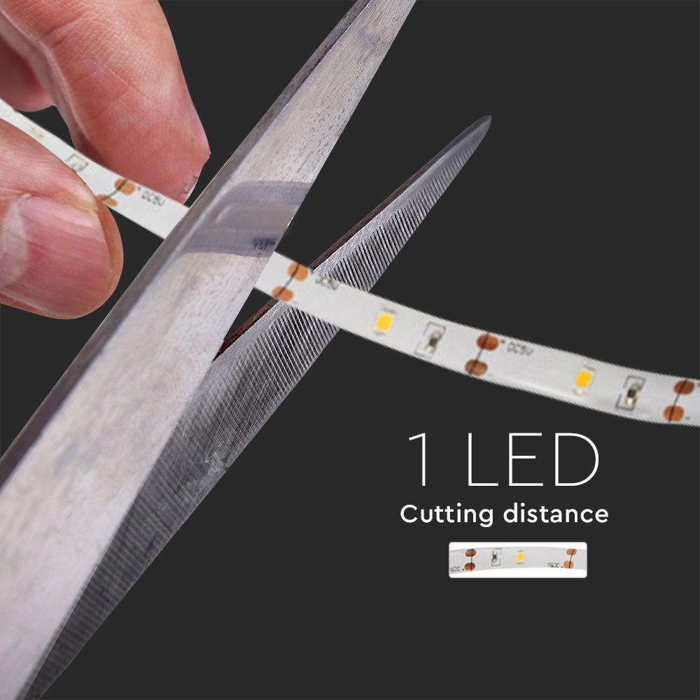 Banda LED 2.4W cu Senzor de Miscare 1m. 2700K, 4xbaterii AAA