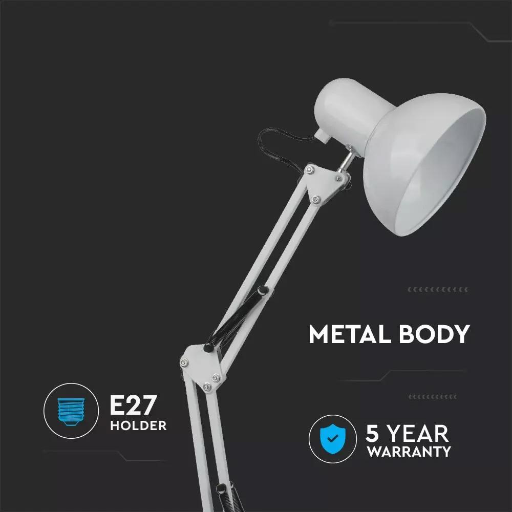 Lampa de Birou Designer Ajustabila, Brat Metalic