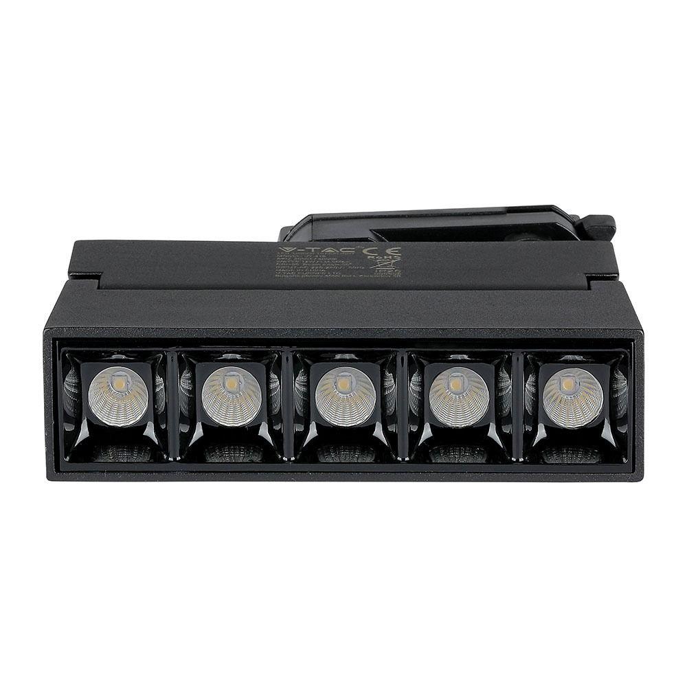 LED Linear Pe sina 12W Cip SAMSUNG Corp Negru 2700K