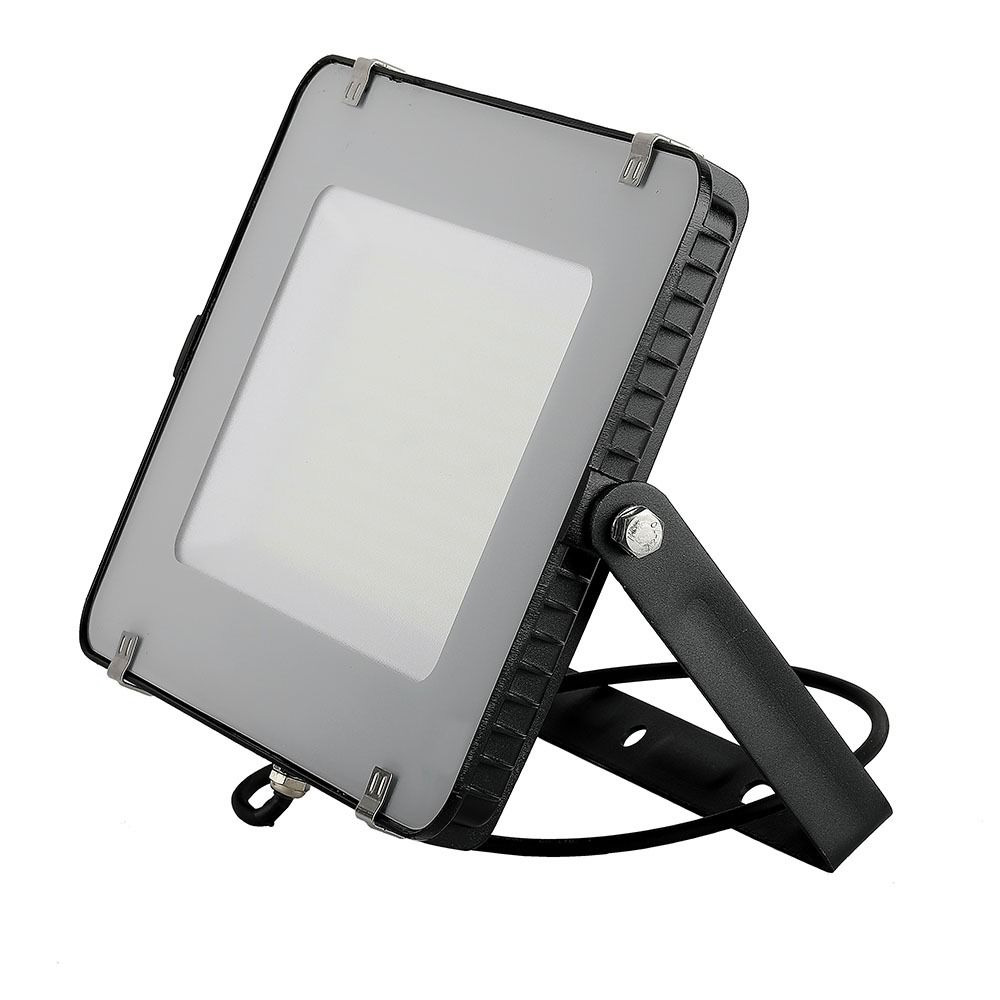 LED Floodlight, SMD SAMSUNG Chip 300W, Slim Black Body 6400K