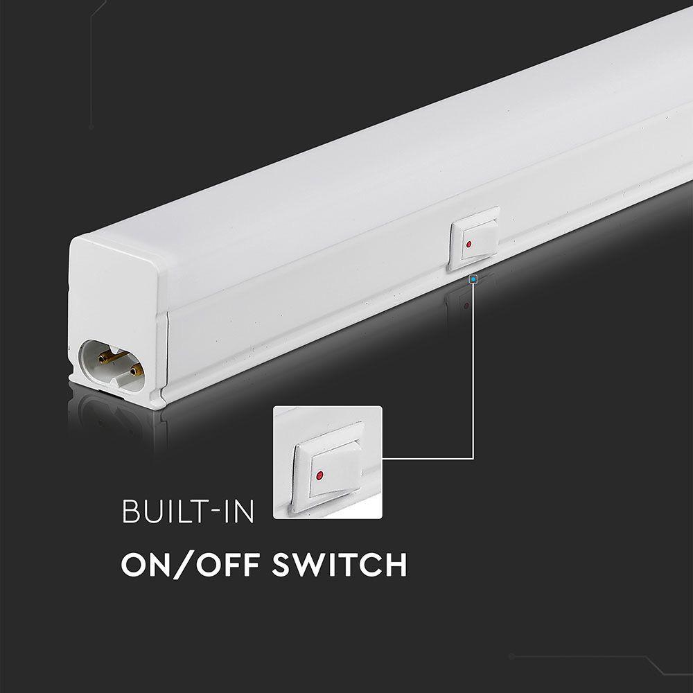 Lampa LED 4W model Batten Fitting T5, 30cm, Lumina Calda (3000K) Cip SAMSUNG