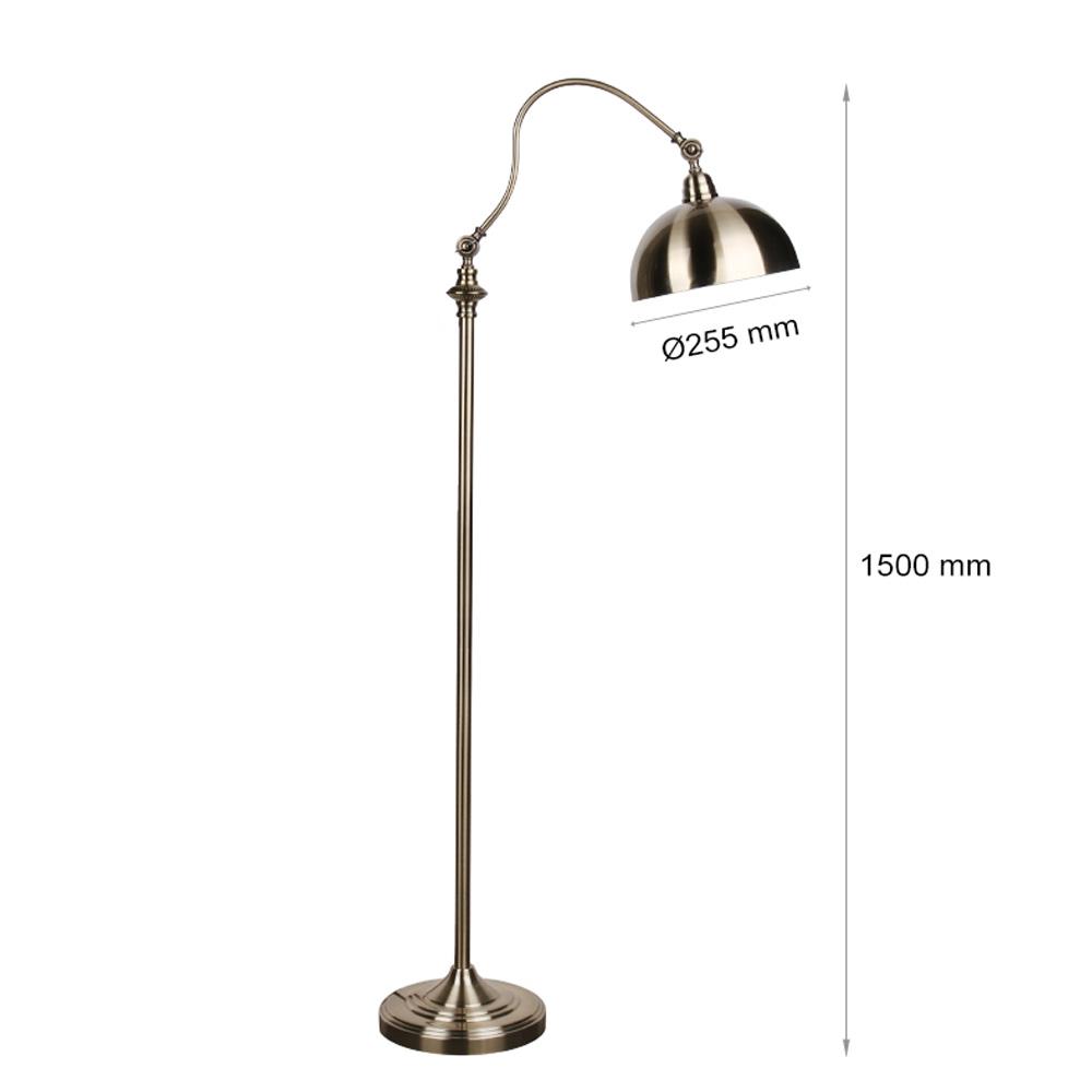 Lampadar, Soclu E27, Bronz, 1500x255 mm