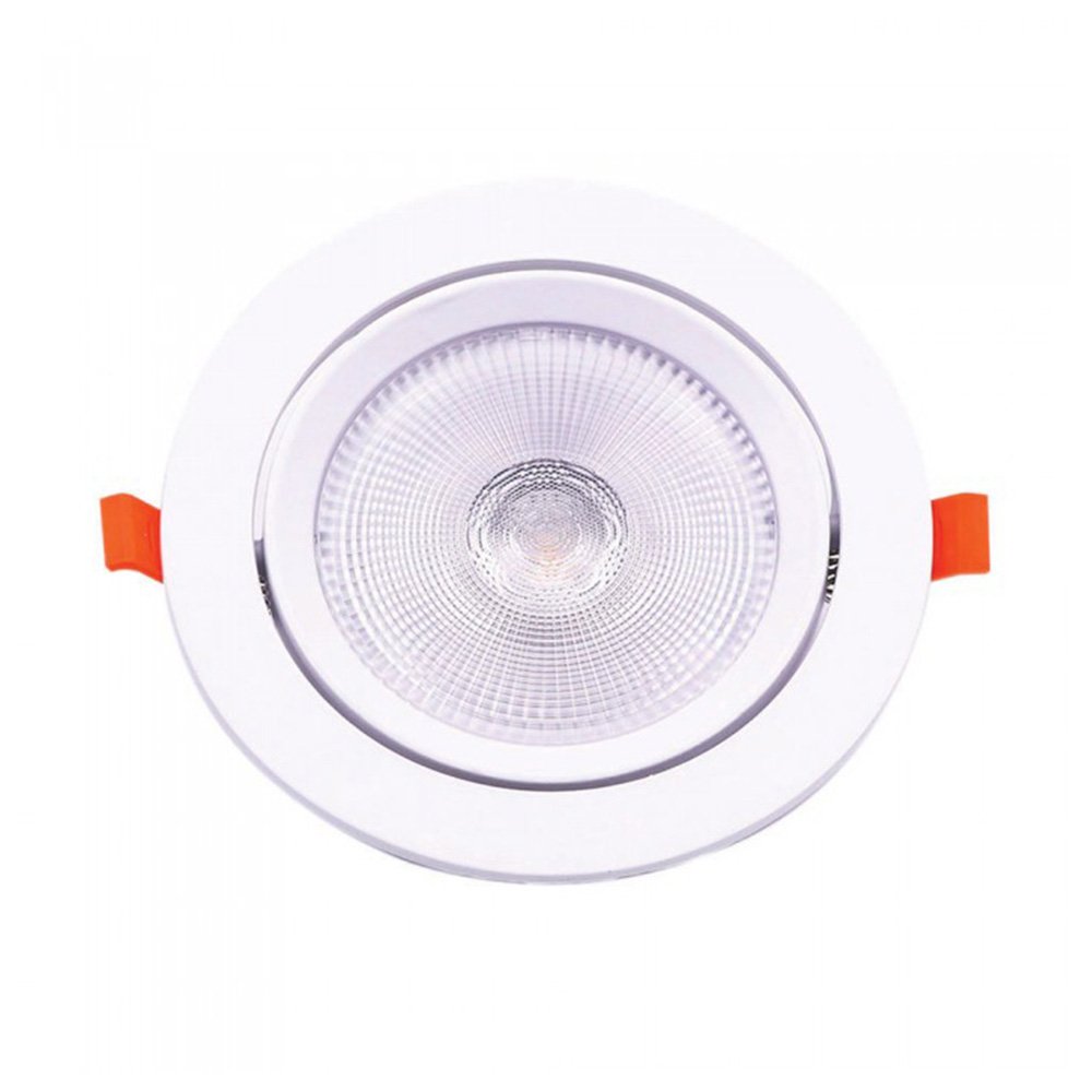 Spot Incastrat LED 30W, Orientabil, Lumina Rece (6400K) Cip SAMSUNG