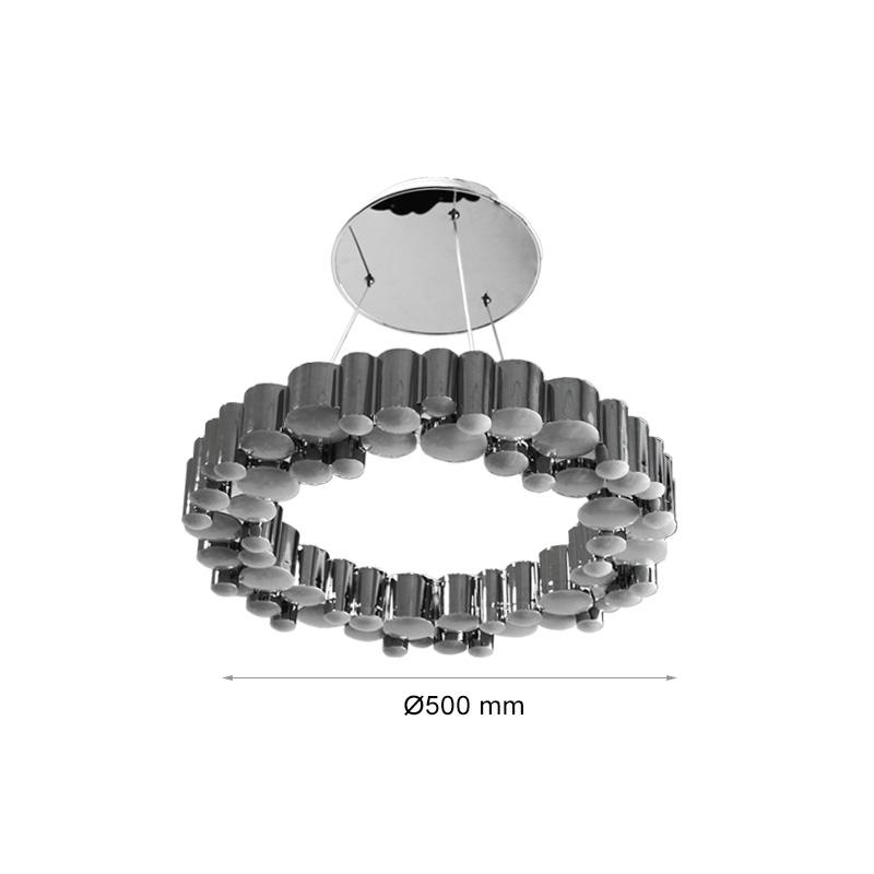 Lustra LED 33W, Diam 500mm, Lumina Naturala(4000K)