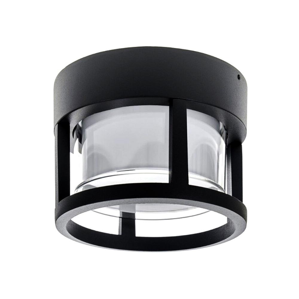 Aplica de Gradina LED 10W, Lumina Naturala(4000K) Neagra