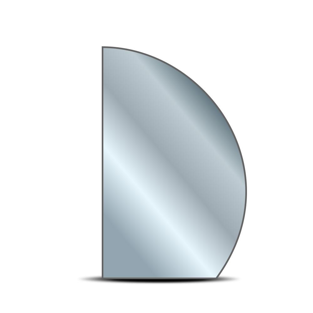 Oglinda Semiovala cu Lumina Perimetrala pe LED 100W, 24V, Lumina Naturala