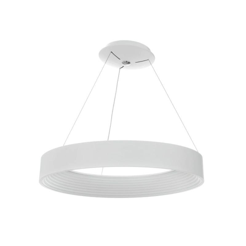 Lustra LED 64W, Temperatura Culoare 3000-4000-6000K, Gri