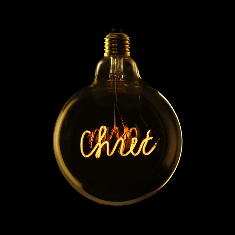 Bec LED CHIC 2W, E27, G125, Lumina Calda 2200K