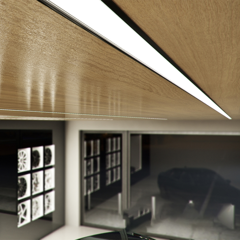 Profil INSO Incastrat/Aplicat pentru Banda LED