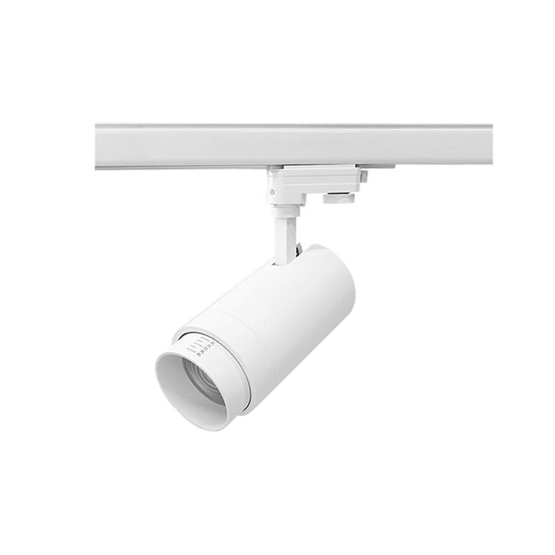 Proiector LED 30W pe Sina cu 4 Faze, Lumina Naturala (4000K), Corp Alb Vario