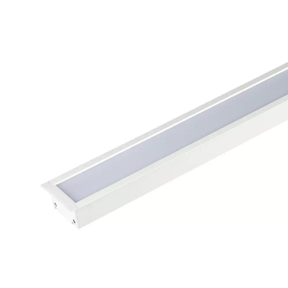 Lampa LED Lineara Cip Samsung 40W, Incastrata Corp Alb 4000K, W:70mm