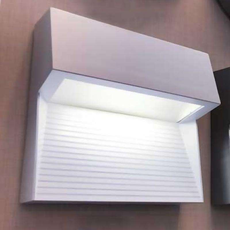 Lampa LED 3W pentru trepte, Corp alb patrat, Alb natural