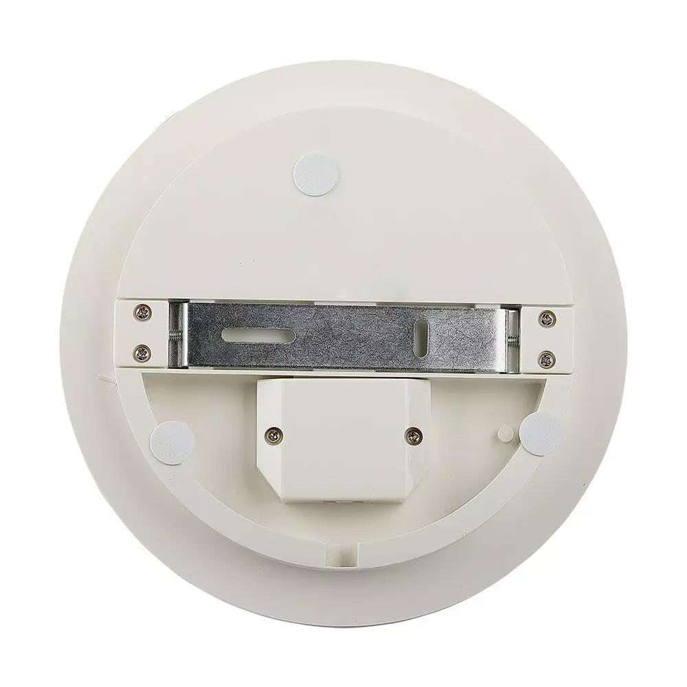 Aplica LED 15W Cip SAMSUNG, Fara Rama, Rotund 6400K, IP44, 100lm/W