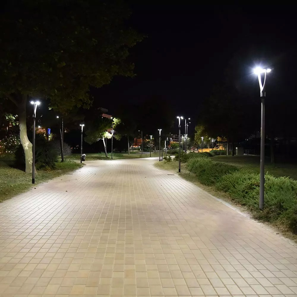 Lampa de Iluminat pentru Stalp 100W LED 4000K