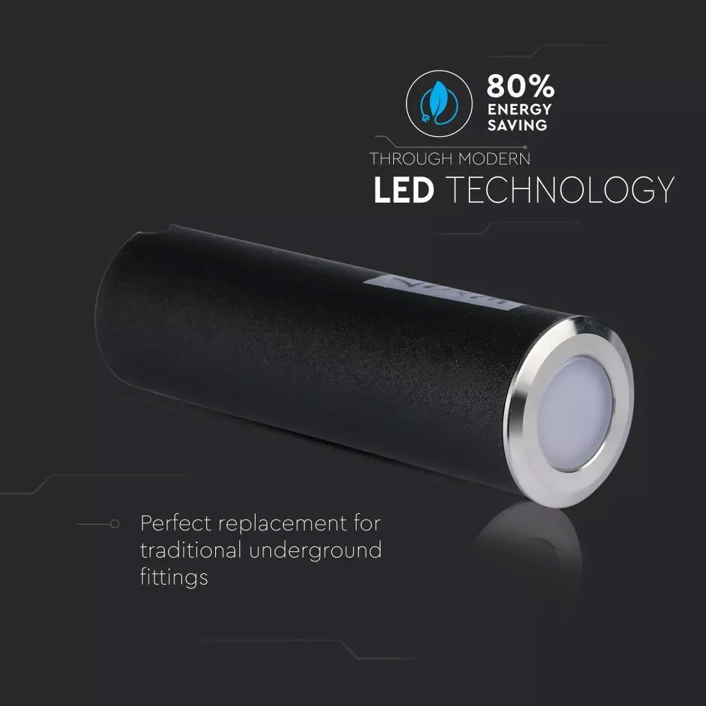 Spot LED 0.5W, Argintie, 3000K