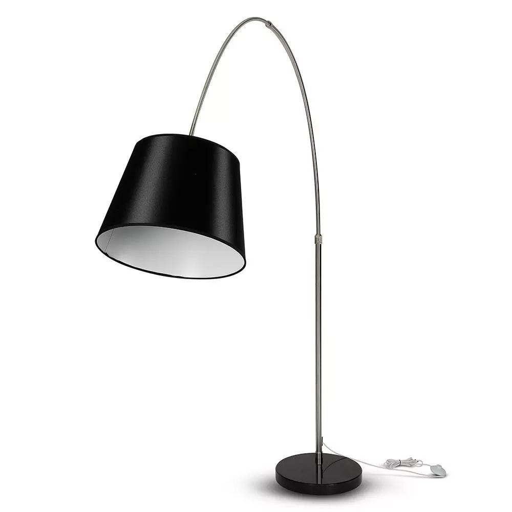 LAMPADAR, Soclu E27, Abajur Negru
