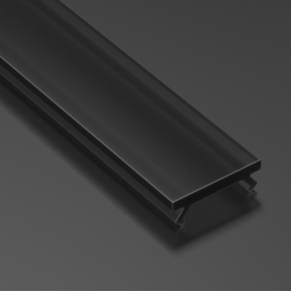 Dispersor pentru Profil Tip B Negru, 3m