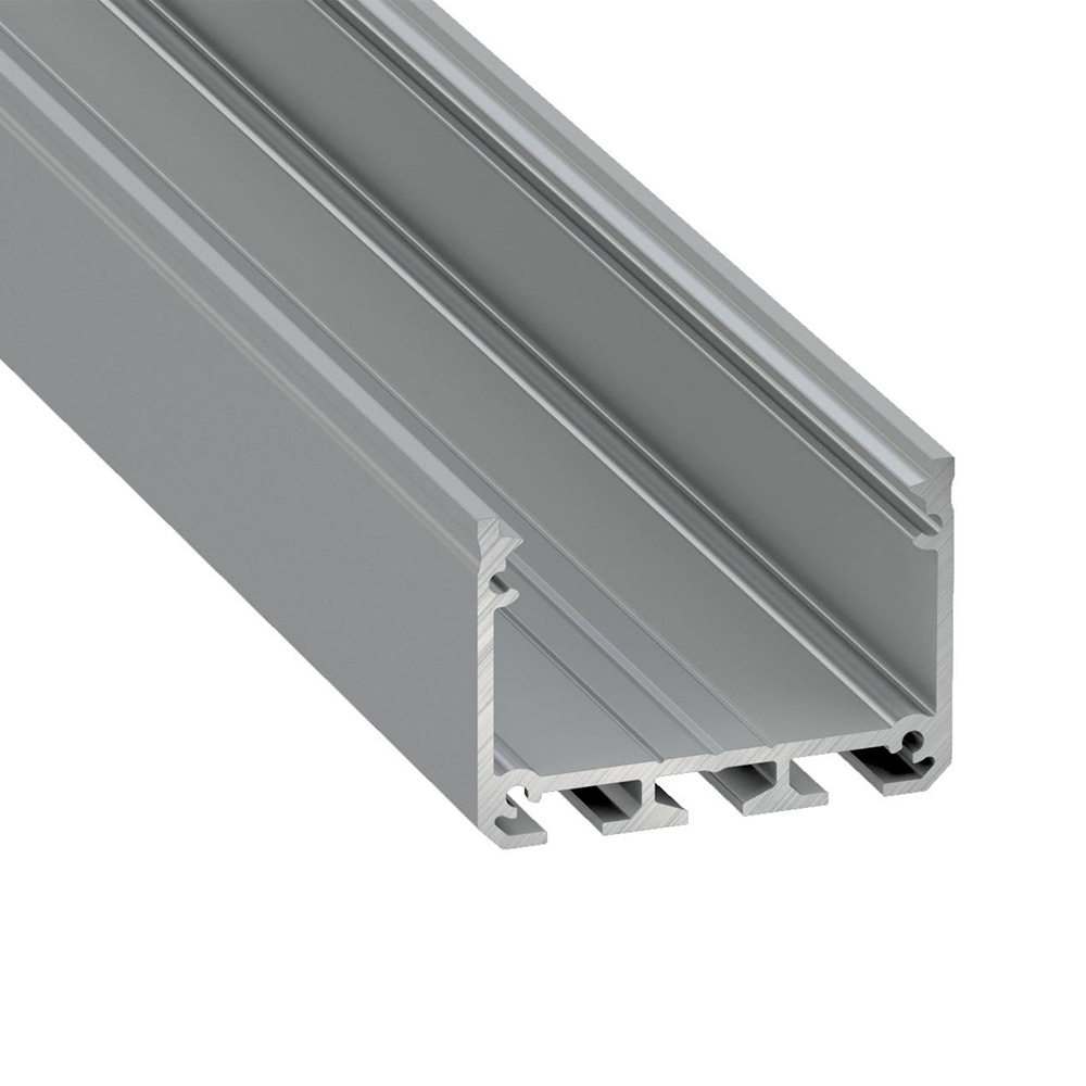 Profil Aluminiu Tip ILEDO Silver 3 m/bara