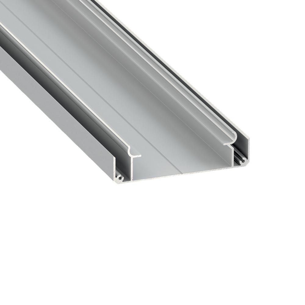 Profil din Aluminiu Aplicat TIP LARGO - M1, Gri, 3m