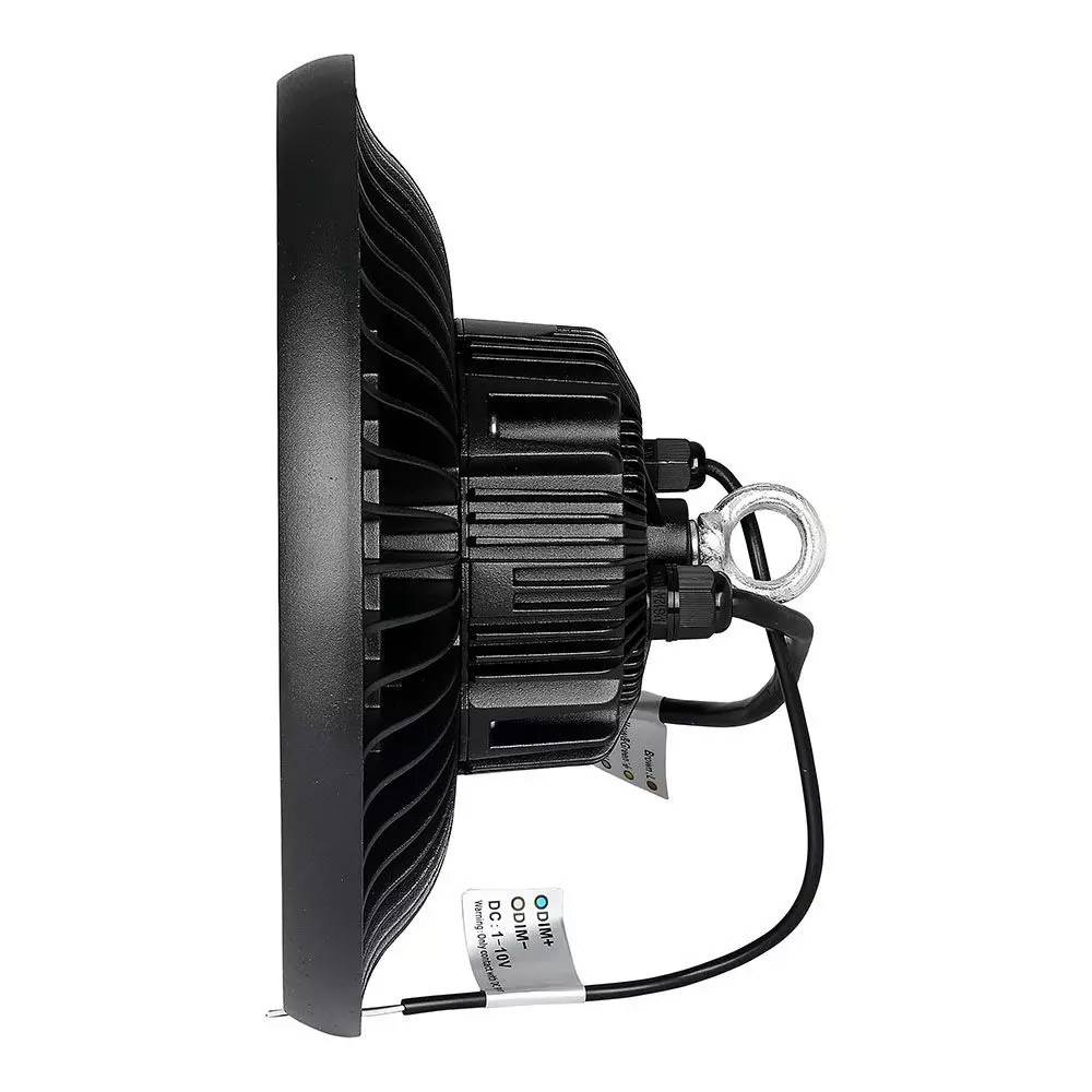 Highbay Cip SAMSUNG 100W UFO Driver Meanwell 120` 120LM/ Lumina Rece 6400K