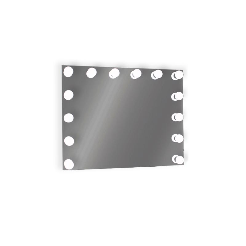 Oglinda MAKE UP 15x24W, E27, Lumina Rece 6400 K, 800x650 mm