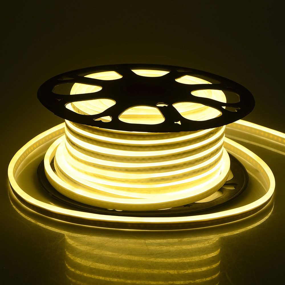 Neon Flexibil Lumina Cald 3Y, 126 Led/m, 10.8 W/m, 6x12mm, 24V, rola 5 m