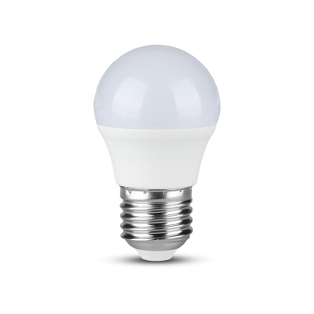 Bec LED 5.5W, E27, G45, Lumina Neutra, 3buc./pachet