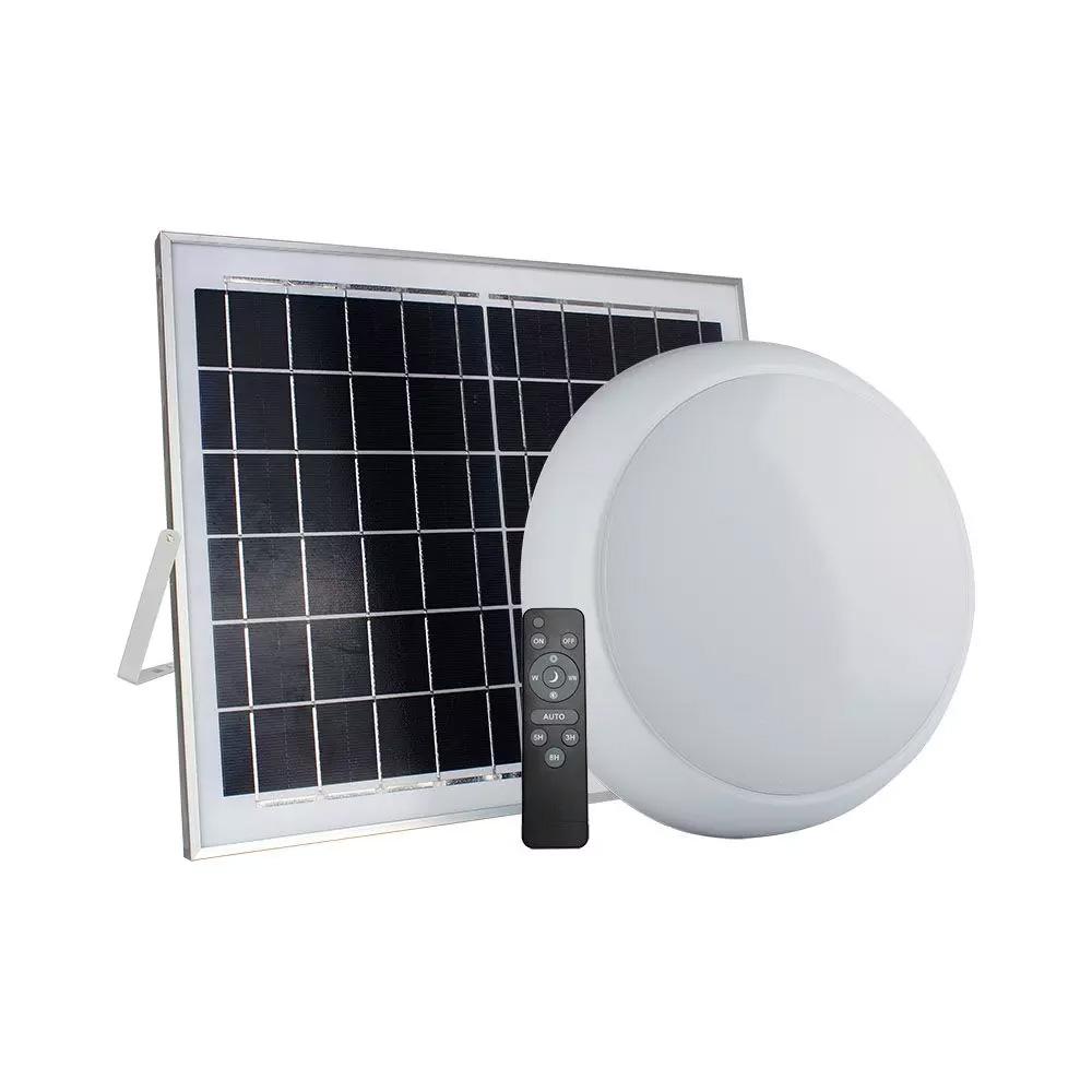 Aplica 15W cu Senzor si Panou Solar pentru Incarcare, 3 IN 1, IP65