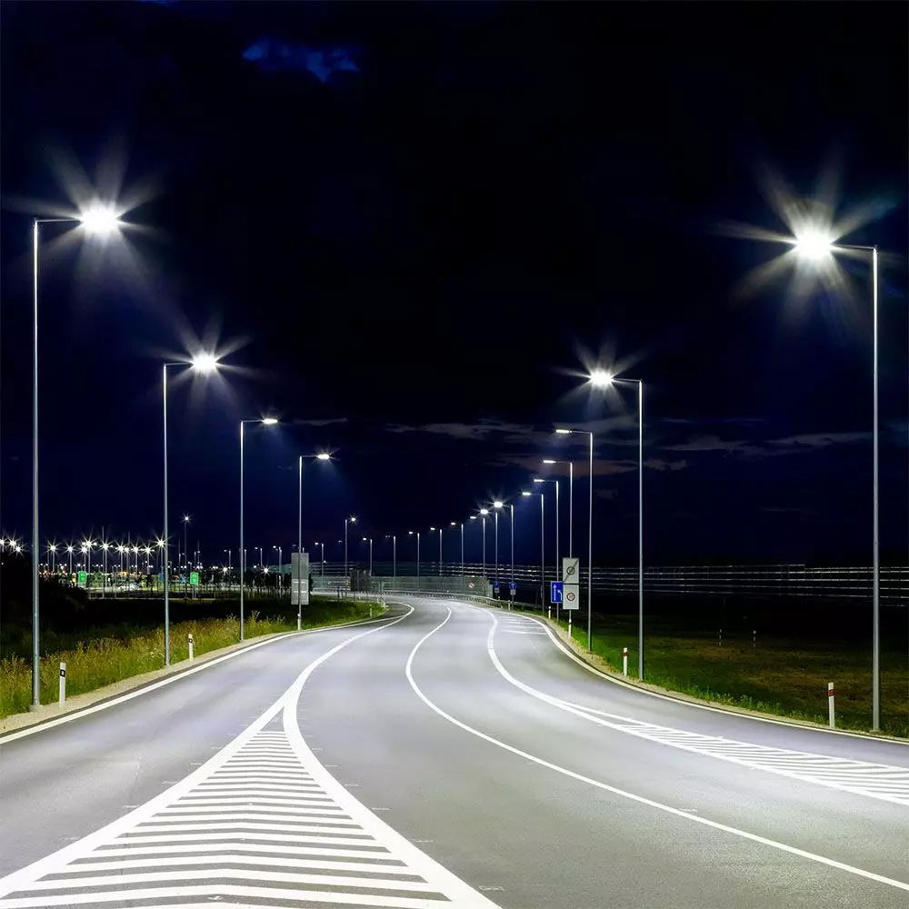 Lampa Stradala LED 50W, Cip SAMSUNG, Slim, 6400K, 120LM/W, 5 Ani Garantie
