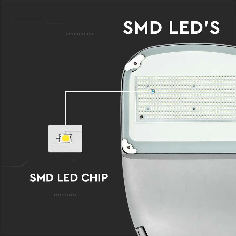 Lampa solara LED 50W, Cip Samsung, Lumina Rece 6000K, Corp Alb