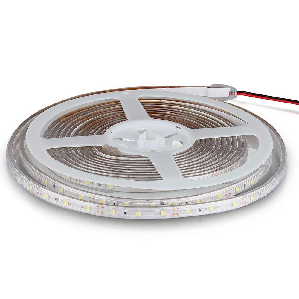 Banda LED SMD 3528 - 3.6W/m, 60LED/m 4500K IP65