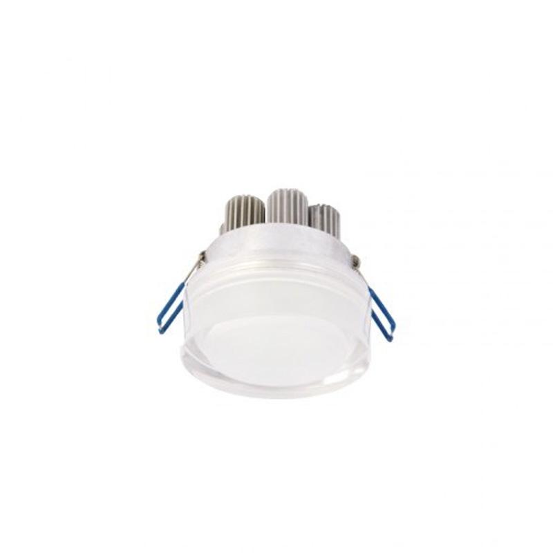 Spot LED 3W, 220V, incastrabil de exterior IP54, lumina alba naturala