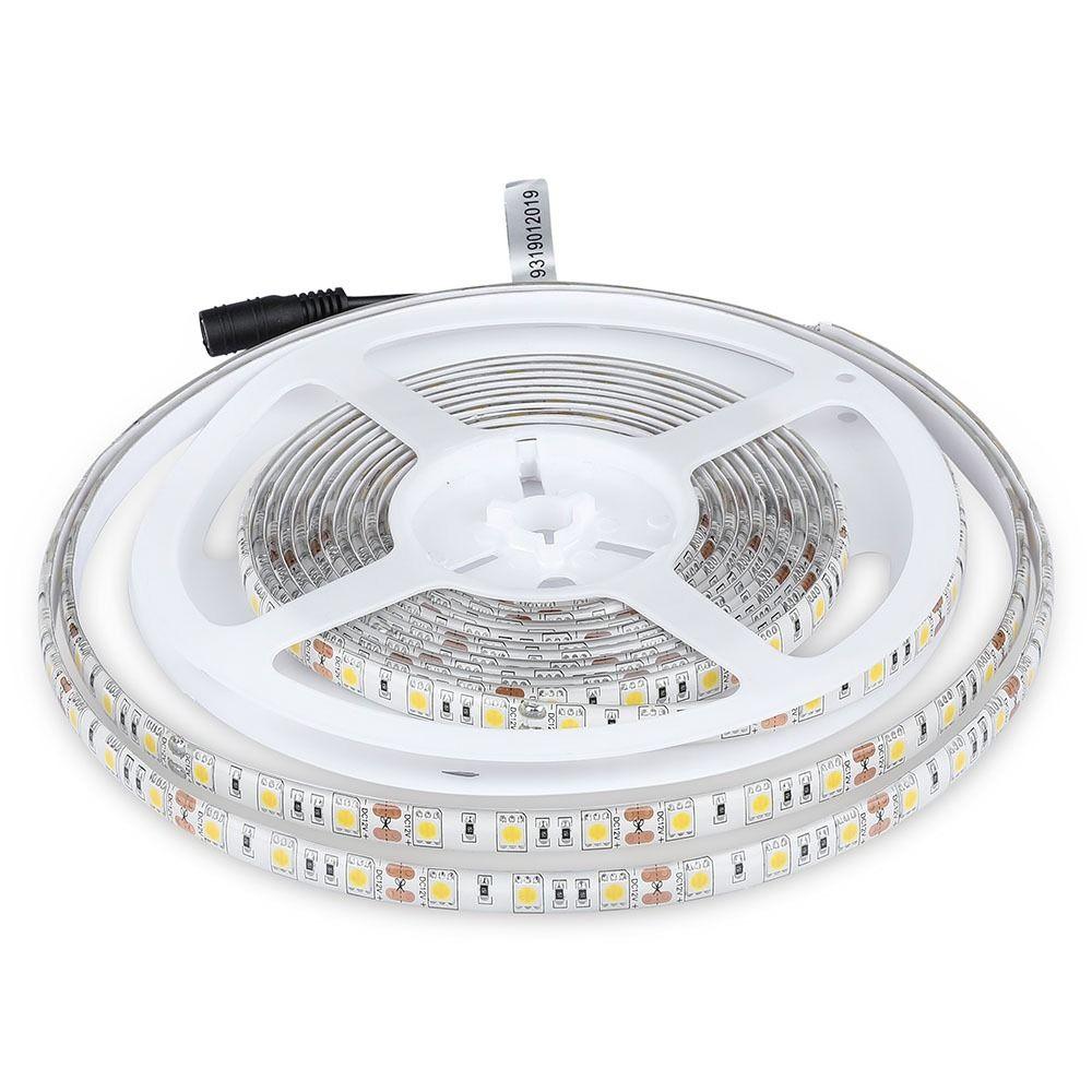 Banda LED SMD5050 -10 W/m 60 LED/m RGB IP65